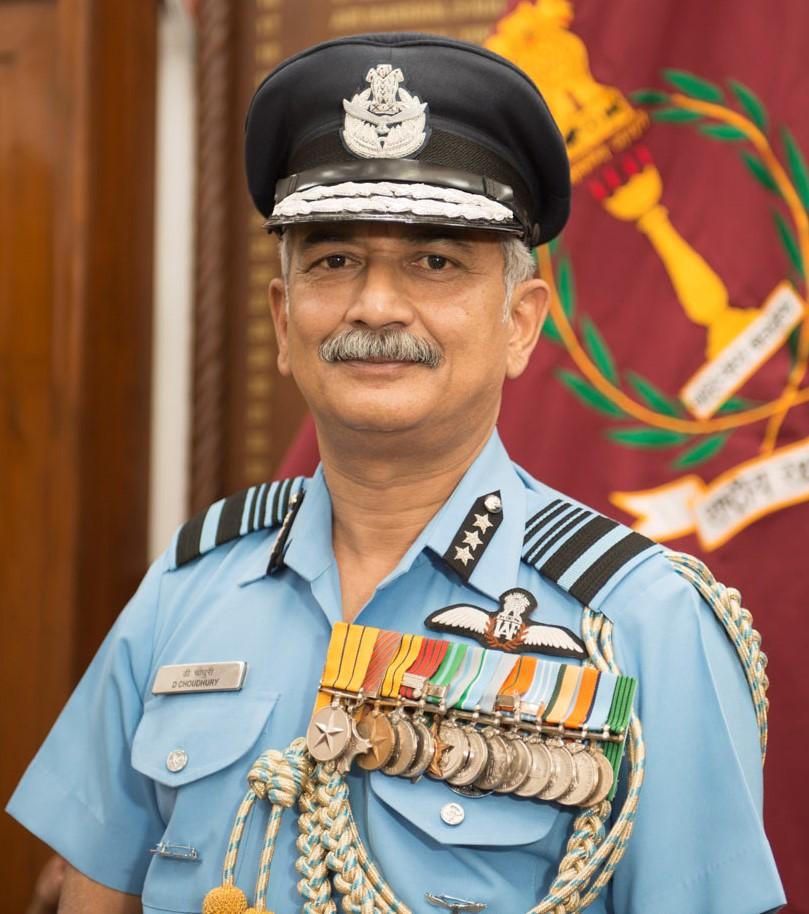 Air Marshal D Choudhury AVSM VM VSM